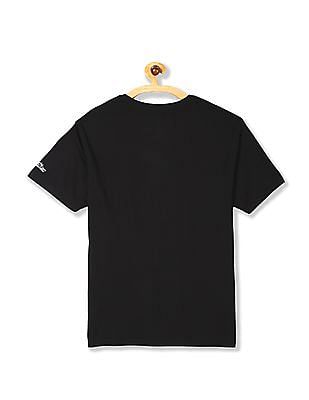 Flying Machine Crew Neck Solid T-Shirt