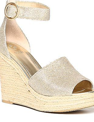 GUESS Embellished Wedge Sandals