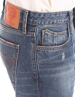 Ed Hardy Slim Fit Stone Wash Jeans