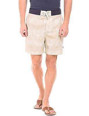 Nautica Printed Quick Dry Board Shorts