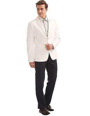 Arrow Sports Solid Slim Fit Blazer