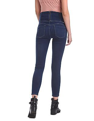 Flying Machine Women Hourglass Skinny Fit High Rise Jeans