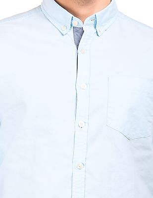 Flying Machine Button Down Slim Fit Shirt