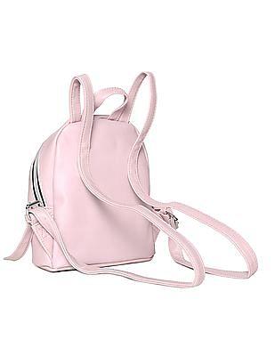 Aeropostale Pleather Mini Backpack