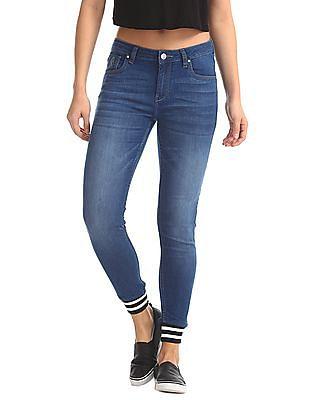 Flying Machine Women Super Skinny Jogger Jeans