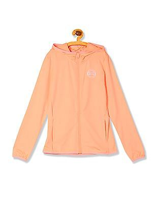 U.S. Polo Assn. Women Hooded Zip Up Active Sweatshirt