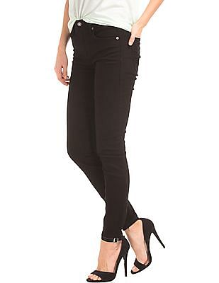GAP Women Black Authentic 1969 Best Girlfriend Jeans
