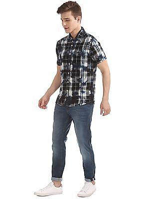 Cherokee Checked Regular Fit Shirt