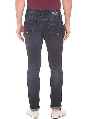 U.S. Polo Assn. Denim Co. Stone Wash Slim Tapered Fit Jeans