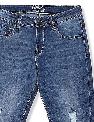 Cherokee Slim Fit Mid Rise Jeans