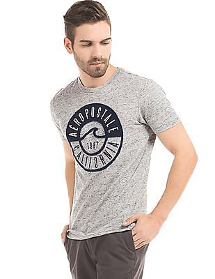 Aeropostale Appliqued Front T-Shirt