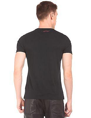 Ed Hardy Embellished Front Slim Fit T-Shirt