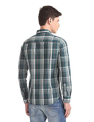 Flying Machine Standard Fit Check Shirt