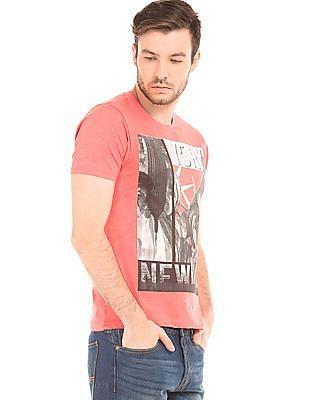 Newport Round Neck Printed T-Shirt