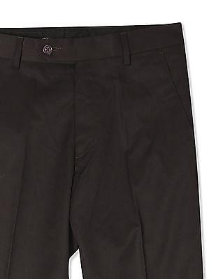 Arrow Mid Rise Smart Regular Fit Trousers