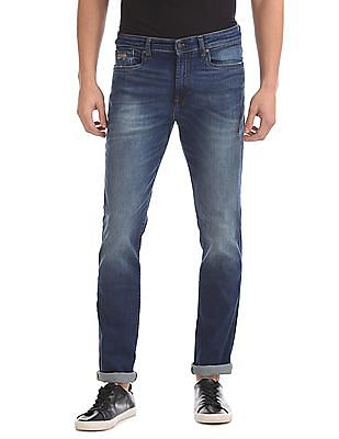 Aeropostale Skinny Fit Stone Wash Jeans