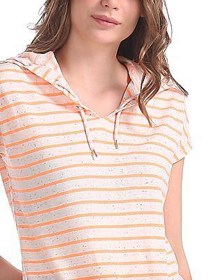 SUGR Lace-Up Hood Active Sweatshirt