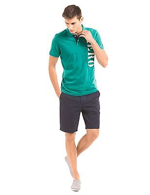 Aeropostale Appliqued Slim Fit Polo Shirt