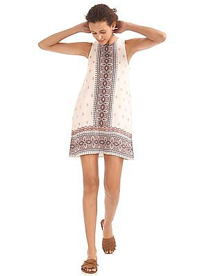 Aeropostale Printed Shift Dress