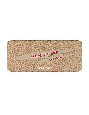 Sephora Collection Feline Instinct Eyeshadow Palette - Gold
