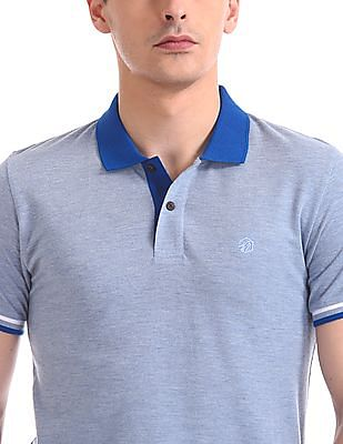 Ruf & Tuf Short Sleeve Colour Block Polo Shirt