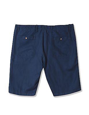 Nautica Drawstring Waist Linen Chino Shorts