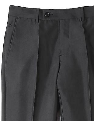 Arrow Flat Front Regular Fit Trousers