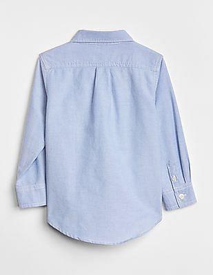 GAP Blue Toddler Boy Oxford Button-Down Shirt