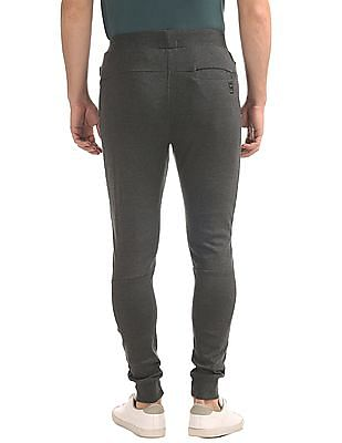 Flying Machine Slim Fit Panelled Joggers