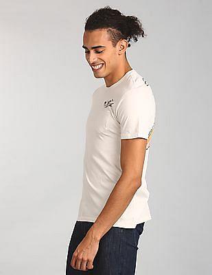 GAP Men White Gap | Mickey Graphic Short Sleeve T-Shirt