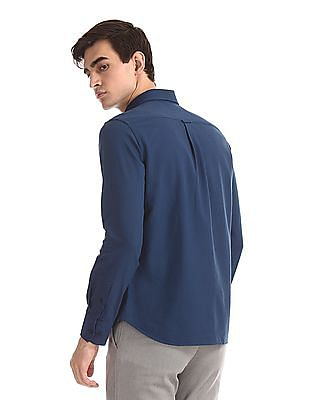 U.S. Polo Assn. Button Down Collar Chest Stripe Shirt