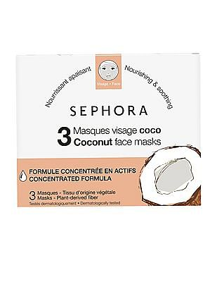 Sephora Collection Coconut Face Mask - Pack Of 3