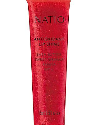 NATIO Antioxidant Lip Shine Love - Red