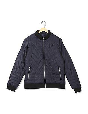 Arrow Sports Regular Fit Solid Jacket