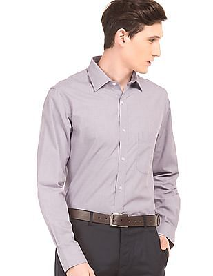 Arrow Patterned Regular Fit Shirt