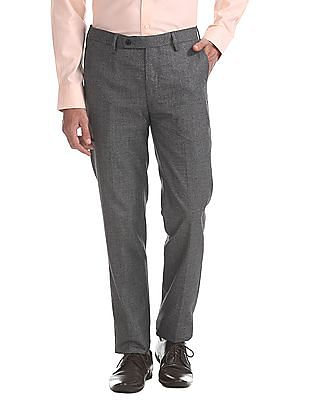 Arrow Slim Fit Heathered Trousers