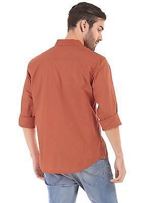 Aeropostale Regular Fit Button Down Shirt
