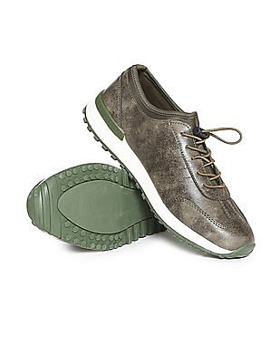 U.S. Polo Assn. Contrast Sole Oxford Style Sneakers