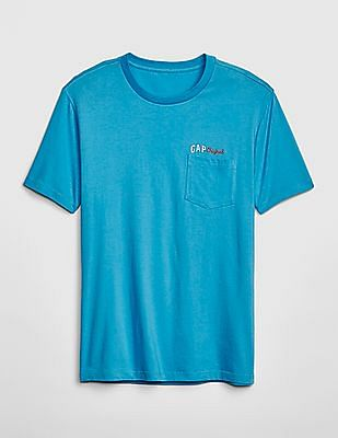 GAP Gap Original Logo Pocket T-Shirt