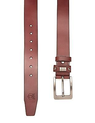 Cherokee Pebble Grain Leather Belt