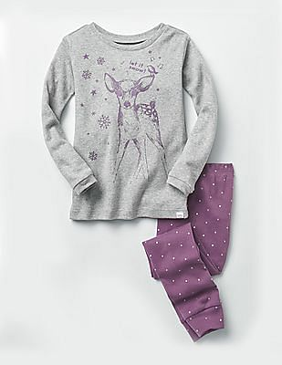 GAP Baby Assorted Deer And Dot Sleep Set