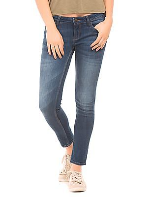 Flying Machine Women Skinny Fit Jeans