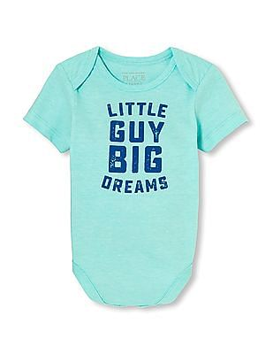 The Children's Place Baby Short Sleeve Graphic Bodysuit