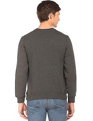 U.S. Polo Assn. Crew Neck Heathered Sweatshirt