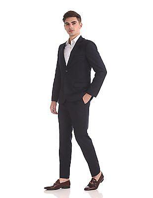 Arrow Newyork Zero Calorie Slim Fit Solid Suit