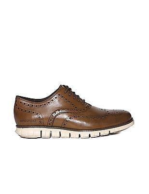 Cole Haan Zerogrand Wingtip Oxford Leather