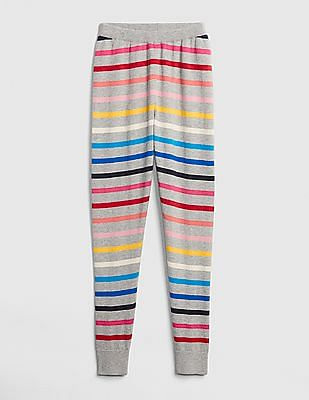 GAP Girls Crazy Stripe Sweater Leggings