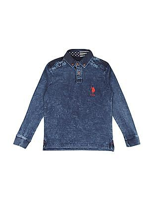 U.S. Polo Assn. Kids Boys Button Down Polo Shirt