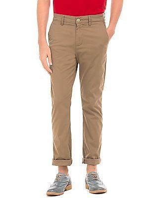Nautica Regular Fit Cotton Twill Pants