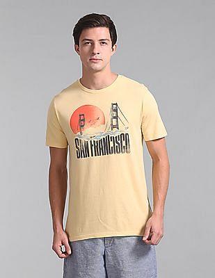 GAP Crew Neck Graphic T-Shirt